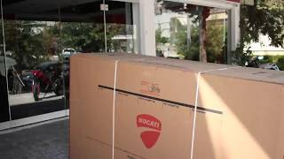 Ducati Multistrada 950 unboxing @fanmoto