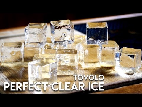 Tovolo Perfect Clear Ice Cubes | Ice Hammock