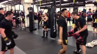 MKG Muay Thai Rounds Testing April 2013 -