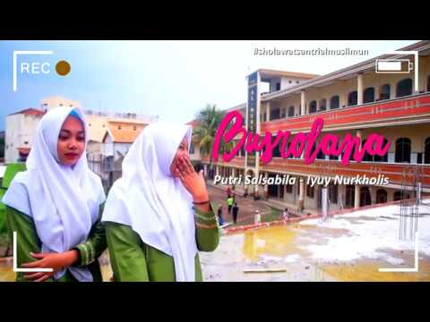 Busyrolana Putri Salsabila Iyuy Nurkholis Juara 1 Festival Sholawat Nasional 2019