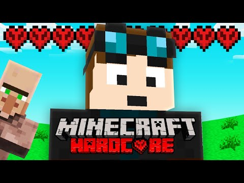 I Started a NEW Minecraft Hardcore World.. (but it's harder!)
