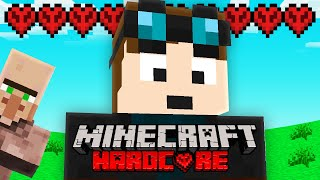 I Started a NEW Minecraft Hardcore World.. (but it&#39s harder!)