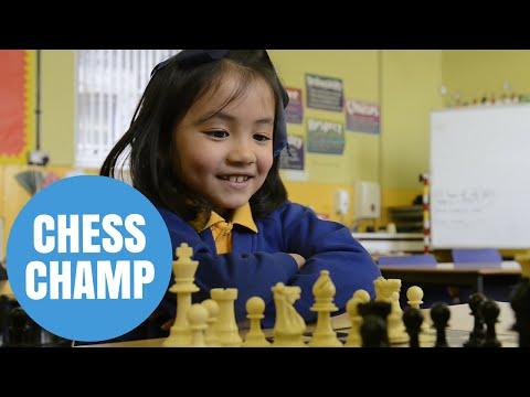 Scottish chess prodigy takes circuit by storm - age SIX