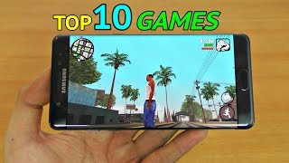 Top 10 Best Games For Samsung Galaxy Note 7 (4K)