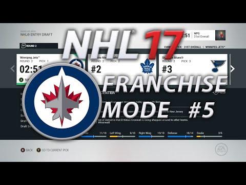 NHL 17 Franchise Mode Winnipeg Jets #5 | The Long Off-season