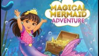 Dora and Friends Cartoon Game Magical Mermaid Adventure - Nick Junior Kids Show