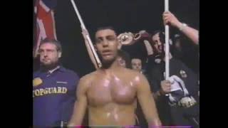 WBO・IBF世界フェザー級王座統一戦 ナジームハメドVSトムジョンソン