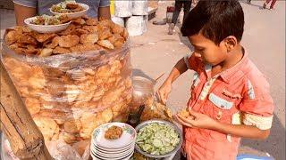 Best Street food In Dhaka | Bhelpuri | Pani puri (Puchka) | Golgappa Selling by Amazing Small boy