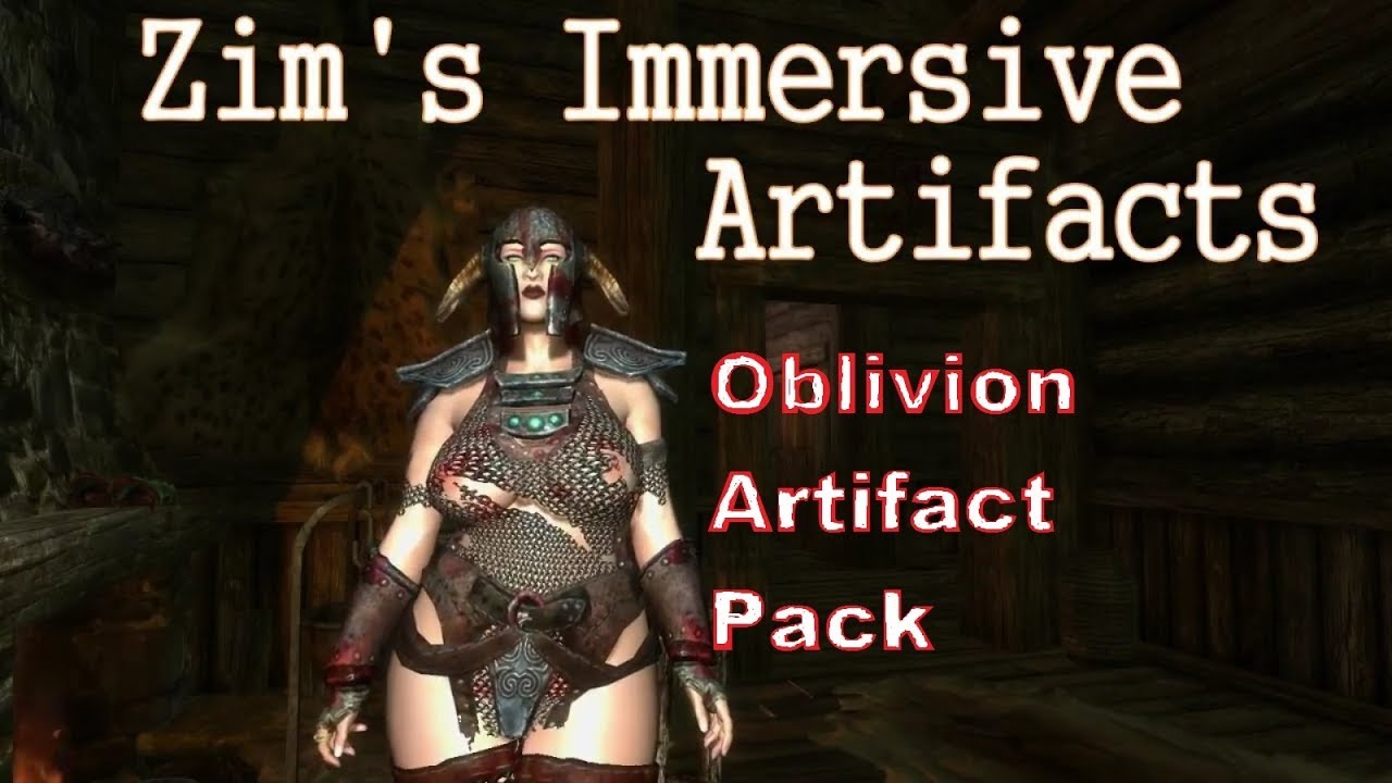 Immersive Artifacts - Skyrim Mod Showcase