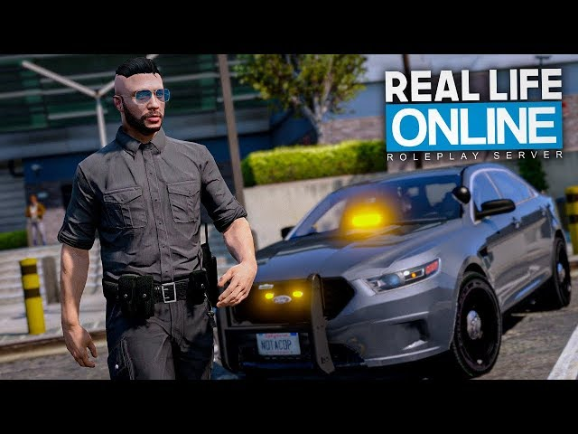 Fake-Polizisten im EINSATZ 😱 - GTA 5 Real Life Online