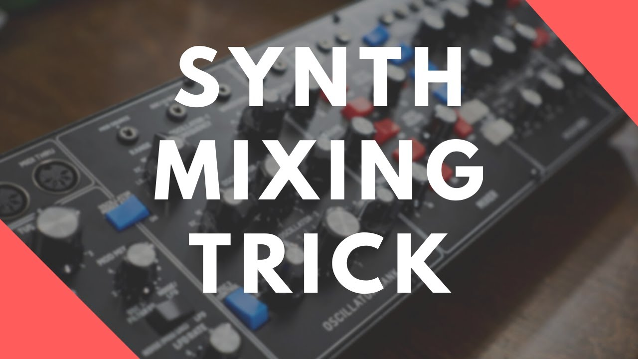 Fitting Synths And Keyboards Into A Dense Rock Mix