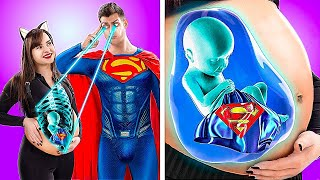 Pregnant Superheroes! 14 Funny Pregnancy Situations!