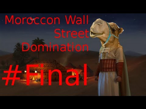 Let`s Play Civilization 5 Brave New World : Moroccan Wall Street Domination Final