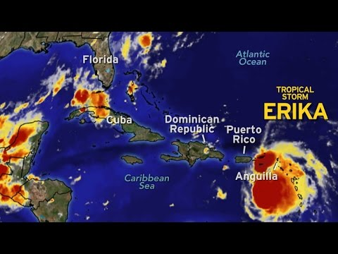 Forecast: Tropical Storm Erika could hit Florida as hurricane