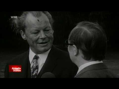 Willy Brandt berühmte JA & NEIN Interview