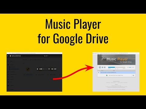 How to setup Music Player for Google Drive