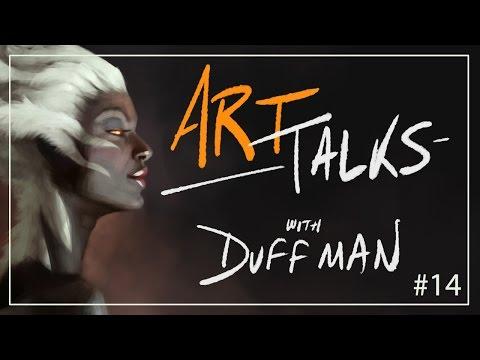 Career Focused Artwork - Art Talks with Duffman