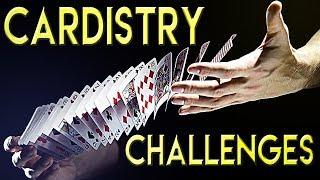 Verrückte CARDISTRY Challenges - #46 Frag MrTriXXL