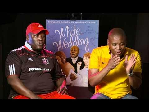 White Wedding  Exclusive: Kenneth Nkosi and Rapulana Sephemo