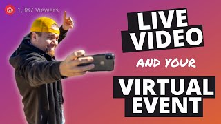 When Virtual Events Should Leverage Live Streaming vs Pre-Recorded or Produced Video Presentations