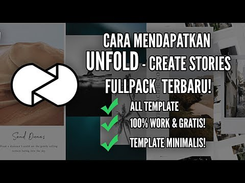 How to Get UNFOLD - Create Stories Full Template For FREE! (100% Work)  LATEST Android