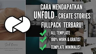 Video How to Get UNFOLD - Create Stories Full Template For FREE! (100% Work) LATEST Android download MP3, 3GP, MP4, WEBM, AVI, FLV Agustus 2018