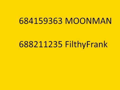Moonman And FilthyFrank Bypassed Audios - YouTube