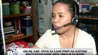 Totoong Trabaho sa Internet Work at Home Featured in TV Patrol
