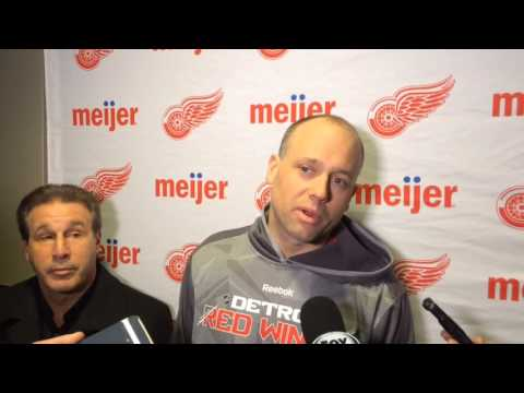 Jeff Blashill updates status of defensemen Niklas Kronwall and Jonathan Ericsson