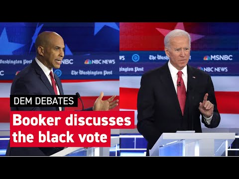 Booker talks black vote and goes after Biden: 'I thought you might have been high' | POLITICO