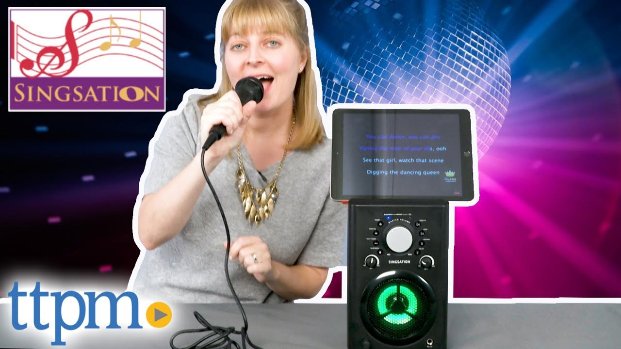 Classic Karaoke System from Singsation - YouTube