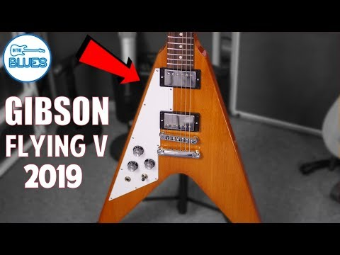 2019 Gibson Flying V Electric Guitar Review