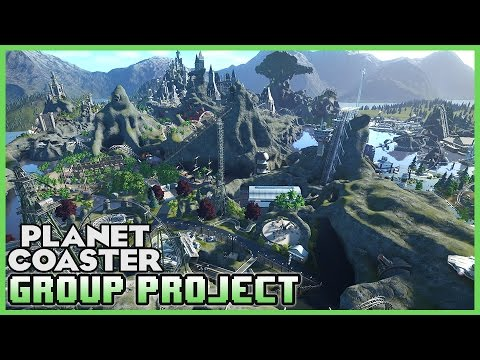 GROUP PROJECT! C5 World of Wonderland! Park Spotlight 58 #PlanetCoaster