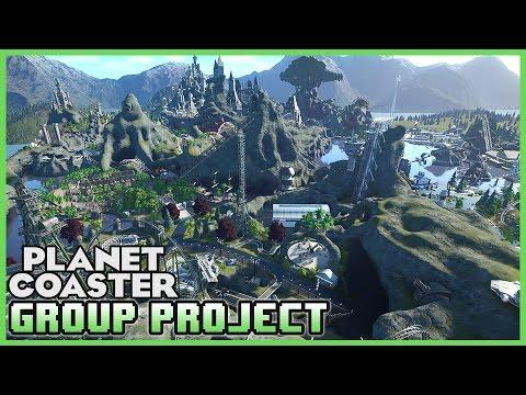 GROUP PROJECT! C5 World of Wonderland! Park Spotlight 58 #PlanetCoaster