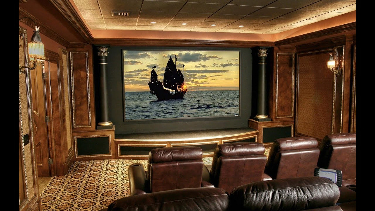 Designing Your Own Home Theater Room