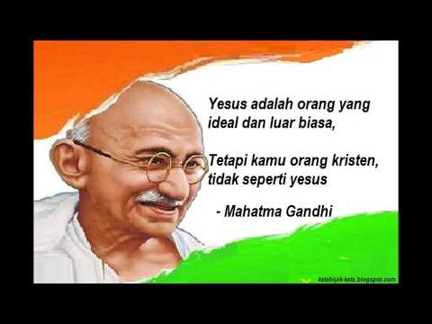Kata Kata Bijak Mahatma Gandhi Youtube