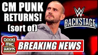 CM Punk SHOWS UP On WWE Backstage! | Will He Return To The Ring??