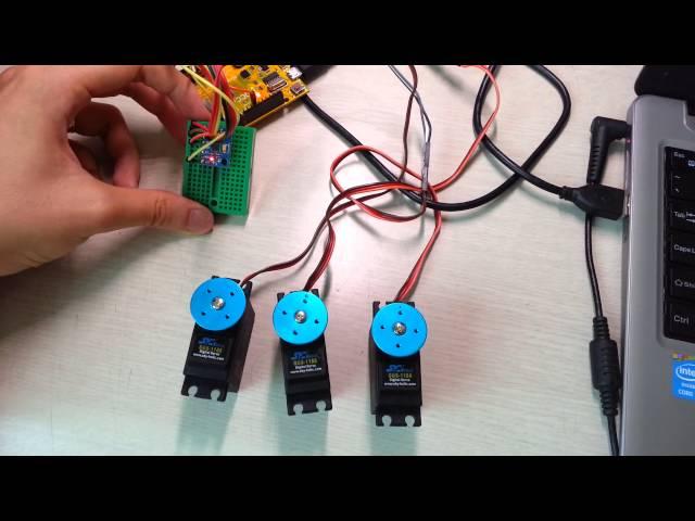 MMA7455 3-Axis Accelerometer Arduino Demo Code
