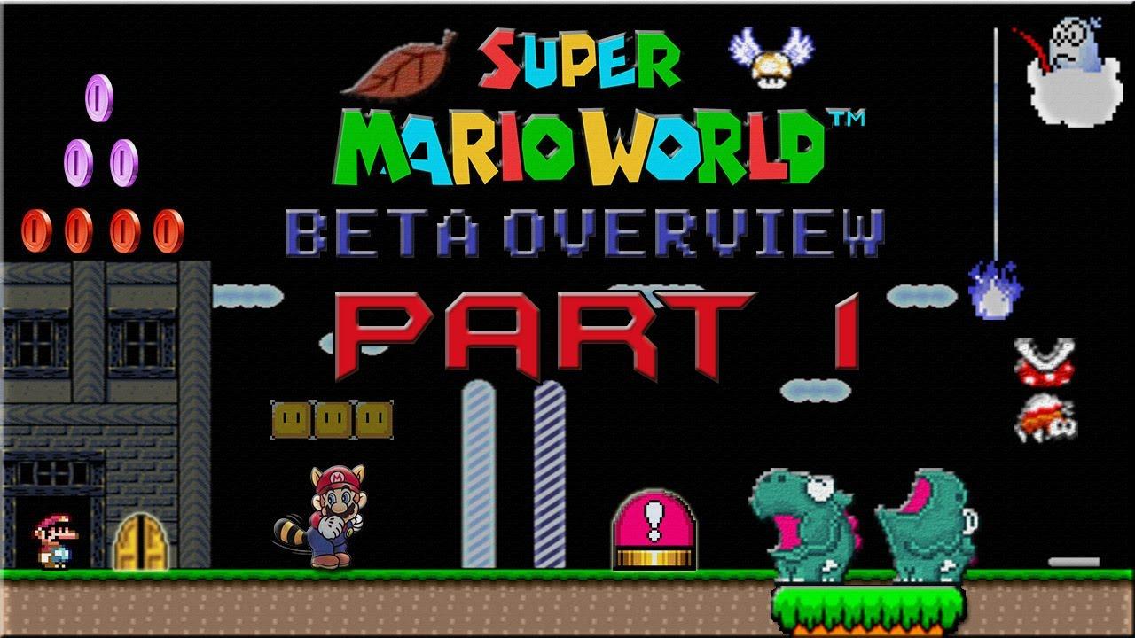 Super Mario World Beta Review - Part 1