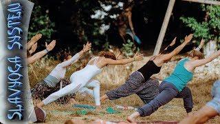 Комплекс йоги для проработки суставов нижних конечностей | Видео по йоге | Йога для начинающих(Информационный ресурс SLAVYOGA http://slavyoga.ru/ - • Всё необходимое для эффективной практики йоги • Запись трениро..., 2015-01-24T14:38:40.000Z)