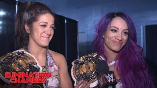 Sasha Banks & Bayley vow their big win is only the beginning: WWE Exclusive, Feb. 17, 2019