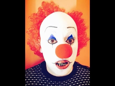 Pagliaccio Truccabimbi.It Pagliaccio Assassino Pennywise Makeup Tutorial Youtube