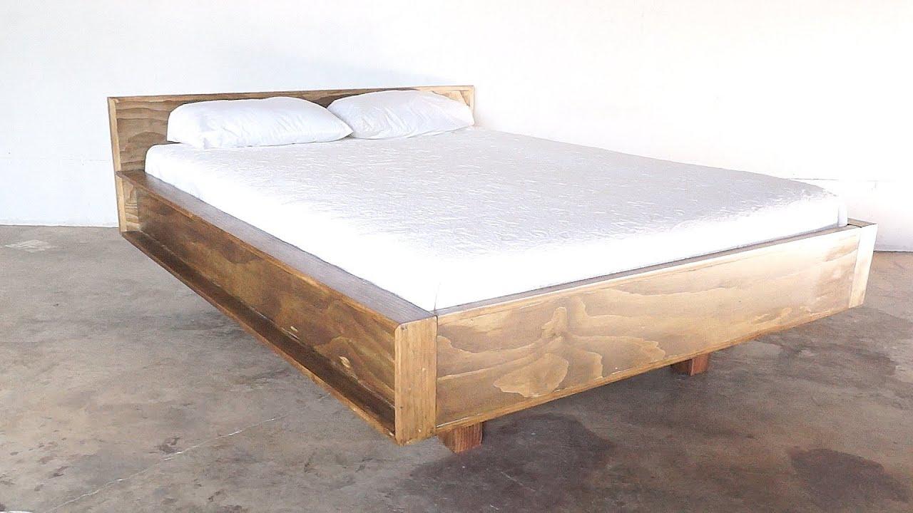 Diy Mid Century Modern Bed Modern Builds Ep 22