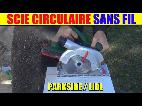 Scie circulaire 12v parkside lidl phksa 12 a1 type bosc for Seghetto alternativo parkside lidl
