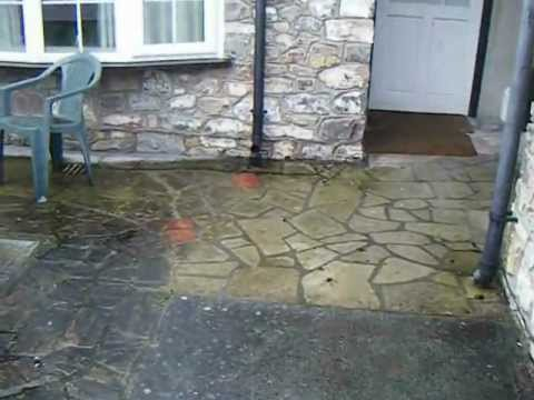How To Clean A Patio,Path That Is Slippery Due To Mould And Dirt The Easy  Way Video 1 Of 2.