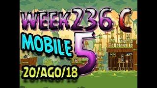 Angry Birds Friends Tournament Level 5 Week 326-C  MOBILE Highscore POWER-UP walkthrough