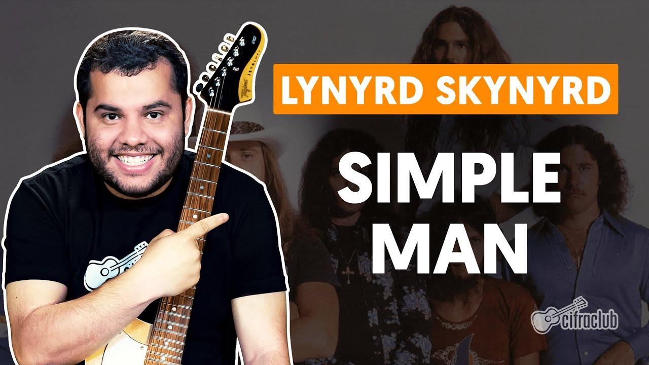 simple man lynyrd skynyrd aula de guitarra youtube. Black Bedroom Furniture Sets. Home Design Ideas
