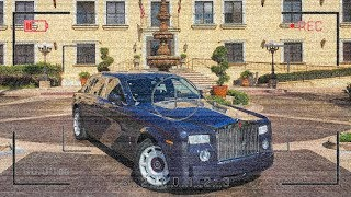 Caught the Valet Taking our Rolls Royce out for a Joy Ride