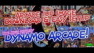 Arcade 1UP Retropie Easy Setup Dynamo Arcade Image Instructions & Links 1up Mod