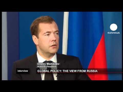 euronews interview - La visione della Russia sulla politica mondiale